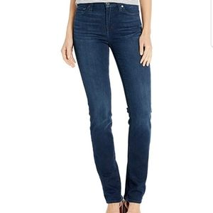 7 for ALL MANKIND STRAIGHT LEG JEANS EMBELLISHED